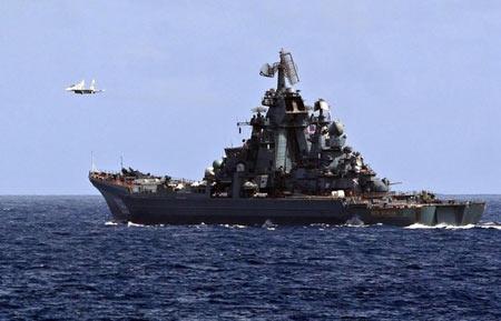 军事资讯_委内瑞拉和俄罗斯完成海上联合军事演习(图)_资讯