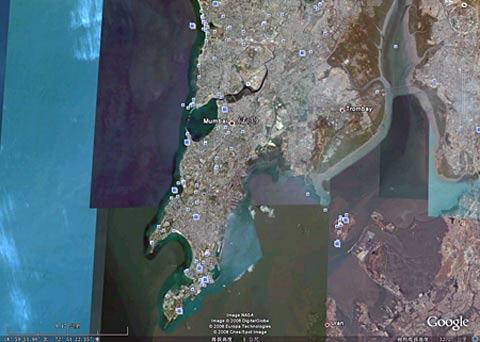 印度指责谷歌电子地图成孟买恐怖袭击帮凶(图)