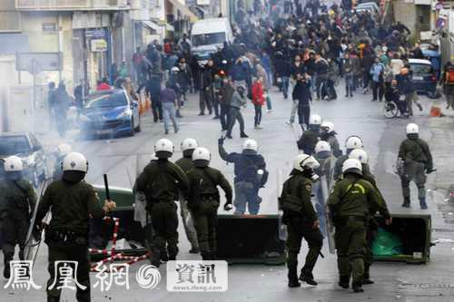 希腊爆发骚乱 银行被烧外国使馆被占领[组图] - 冰峰设计策划 - 戎戈创意团队[设计策划]