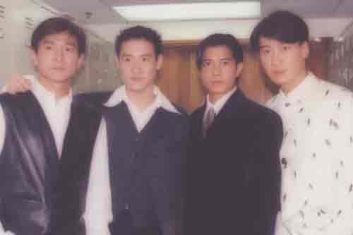 \四大天王\的名字再次同时出现在香港