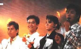 曾经是香港八十年代的著名歌手与唱片骑师