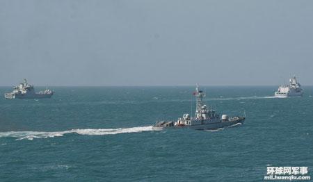 外媒:中国强化南海舰队 为突发事件做准备