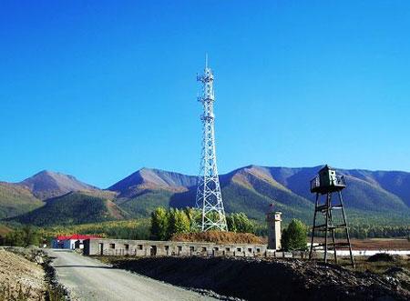 新疆自治区 哈巴河县地标 白哈巴边防站 - 西部落叶 - 《西部落叶》·  余文博客