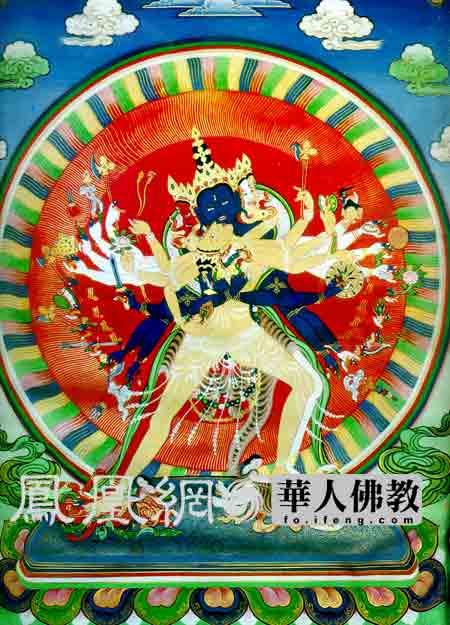 北京雍和宫藏《时轮金刚》藏密绘画主要有壁画和唐卡两种...
