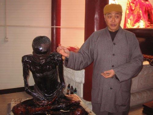 [转载]笃信佛法出家 死后坐化三年肉身不腐 - 小草 -  高山流水