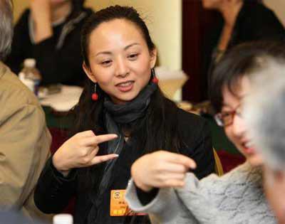 新任全国政协委员的邰丽华
