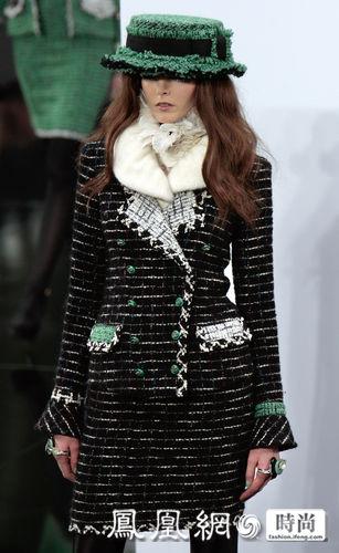 巴黎2009秋冬时装周:chanel