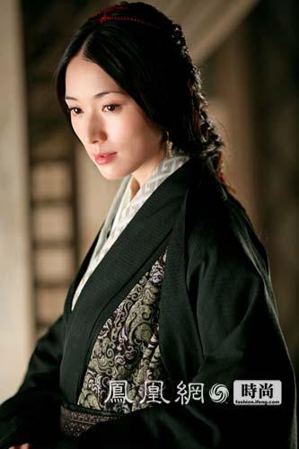 林志玲在电影《赤壁》中饰演小乔;