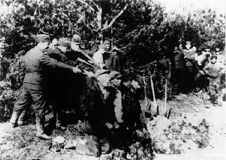 二战德军杀犹太人电影