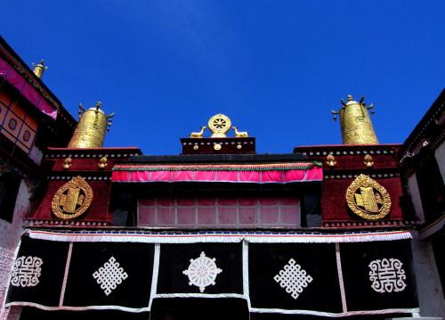 寺庙简笔画彩色