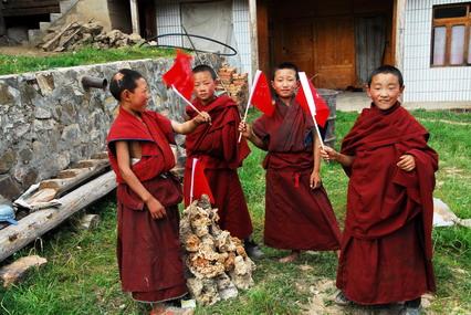 西藏的僧人
