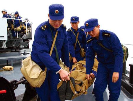 共和国海军87式军服图片