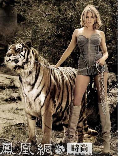 真人版美女与野兽组图 竖