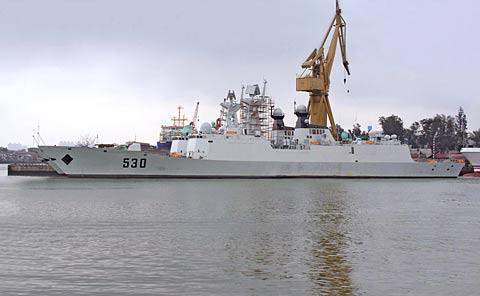 揭秘中国新一代隐身护卫舰:用造飞机标准建造