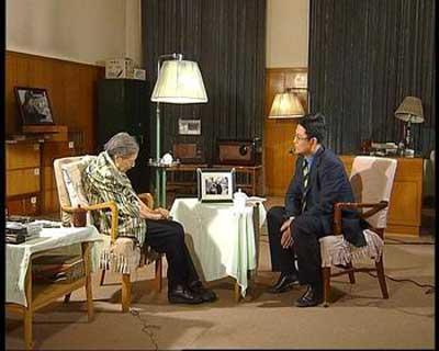 白岩松采访陈云夫人于若木