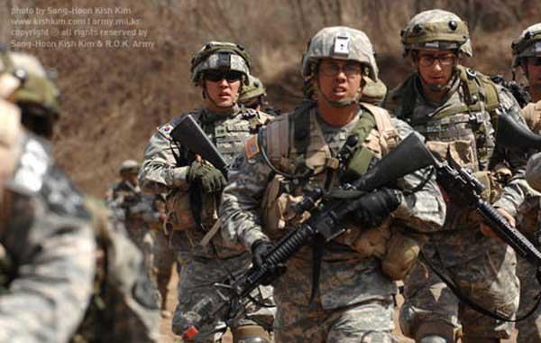 陆军战士生活照片