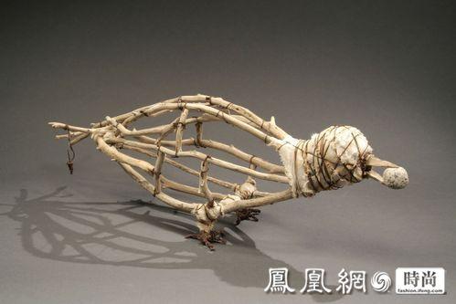 钢丝艺术品 动物