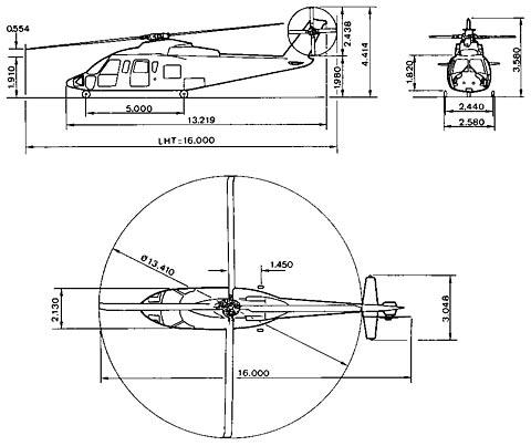 昌飞生产的首架s-76直升机完成机身架内总装(图)图片
