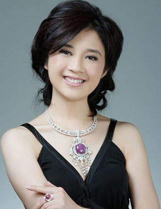 凤凰卫视美丽女主播 许戈辉