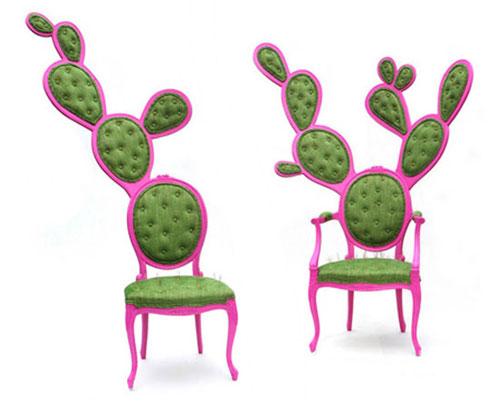带刺的仙人掌椅子 时尚家具你敢坐吗