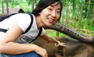 卢琛和大象