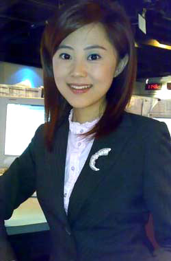 电眼美女主播杨舒