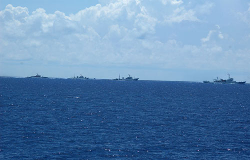 直击保卫西沙的中国守岛部队和海军舰艇
