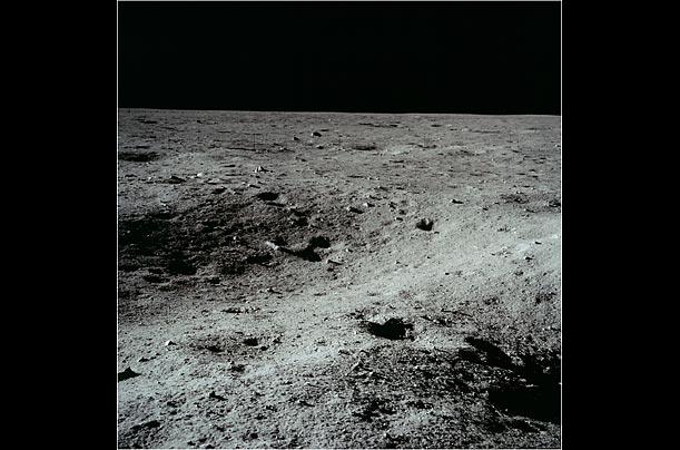 球表面拍的照片