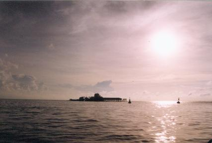 孤独的南沙牧鱼人:投资上千万在美济礁养鱼 - 汉子 - 汉子的博客