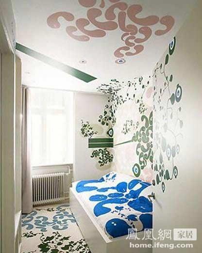 设计家居涂鸦墙饰图片