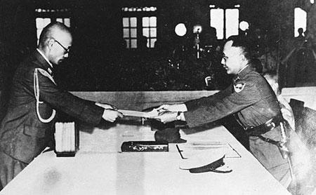 今日:9月9日 中国正式接受日军投降
