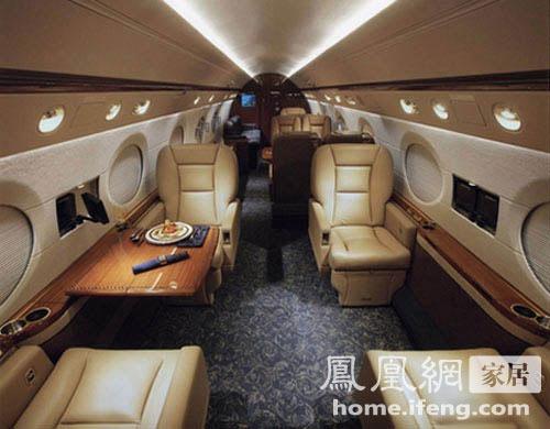 世界最豪华的飞机内部设施设计[组图]