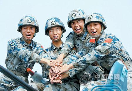 中国军队全面换装数码迷彩 部分技术已领先世界