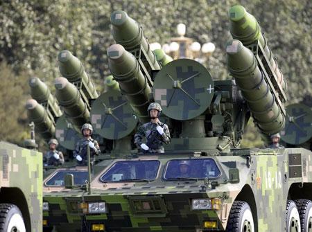 比1999年的前辈更远更强:红旗-7B防空导弹方队 - xqhhyd88 - 深度男人