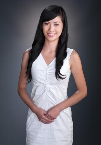 哈尔滨姑娘刘倩进入2009年中华小姐环球大赛