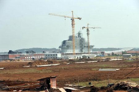 外媒:模组材料已就位 中国开建航母进入倒计时 - xqhhyd88 - 深度男人