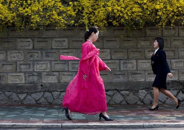 不同阶层的朝鲜女人图集