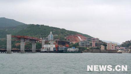 大陆在距台湾最近地点福建平潭岛设立石碑