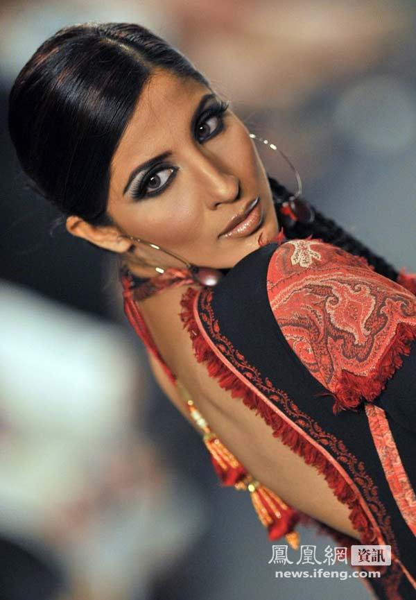 巴基斯坦美女巴基斯坦巴基斯坦衣服巴基斯坦女人 竖
