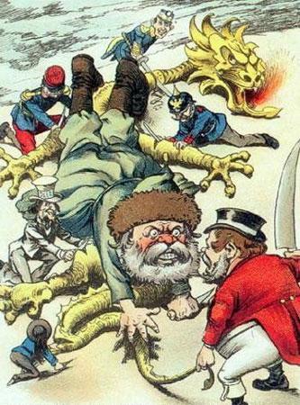 从两幅漫画看西方中国视角的历史性v漫画漫画密林图片