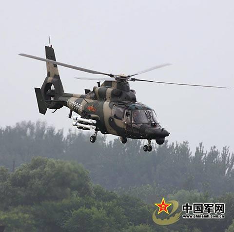 中国新型直升机完成夜战升级 夜间2500米内必杀