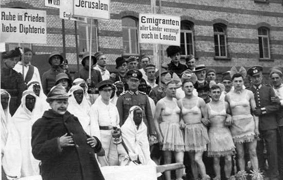 二战期间纳粹德国毫不留情的羞辱英国人