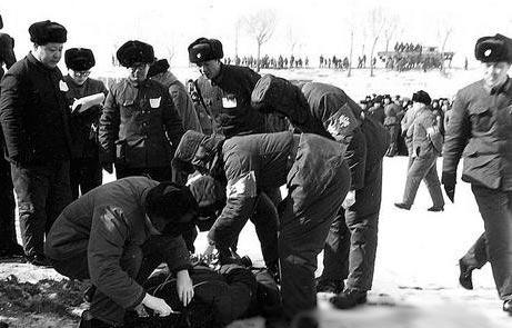 70年代中国最大贪污犯王守信被执行死刑现场