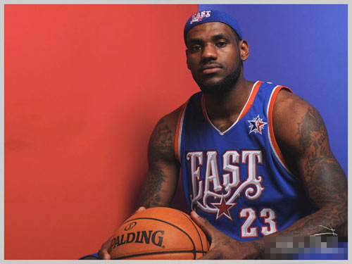 NBA全明星之勒布朗-詹姆斯