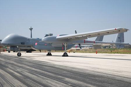 以色列最大无人机投入使用 机翼长度接近波音737