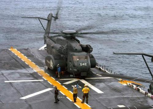 "mh-53e""海龙""扫雷直升机"