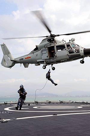 中国第五批护航编队明日三亚启航 重现驱逐舰(图)