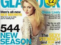 布莱克-莱弗利《Glamour》8月号杂志写真