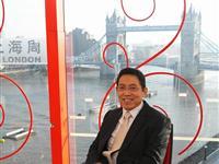 主编吕宁思在伦敦上海周