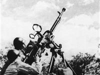 抗美援朝:志愿军高射炮击落美军战斗机